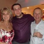 Geoff and Catherine with Kirk Bullen, winner of 1st International Pau 2011