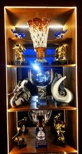 All International trophies