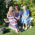 Emily, Sally Ann and Jean Brooks