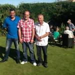 Geoff, Darran McFadden and Mark Gilbert